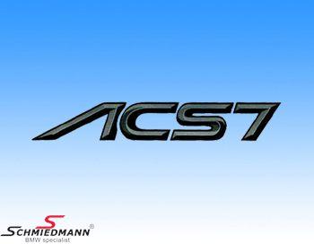 AC Schnitzer logo klistermærke -ACS7-