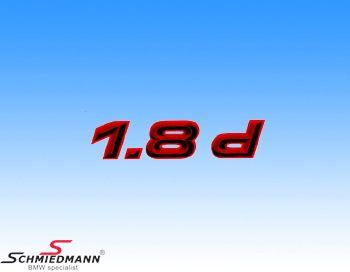 AC Schnitzer klistermærke -1.8D-