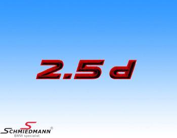 AC Schnitzer klistermærke -2.5D-