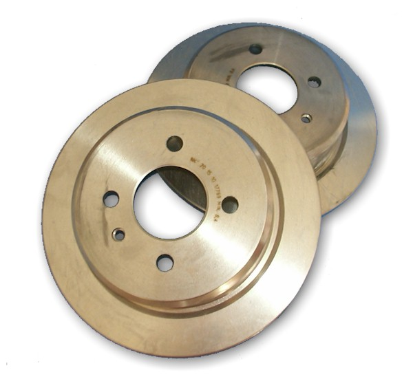 Brake discs rear solid 258X10MM