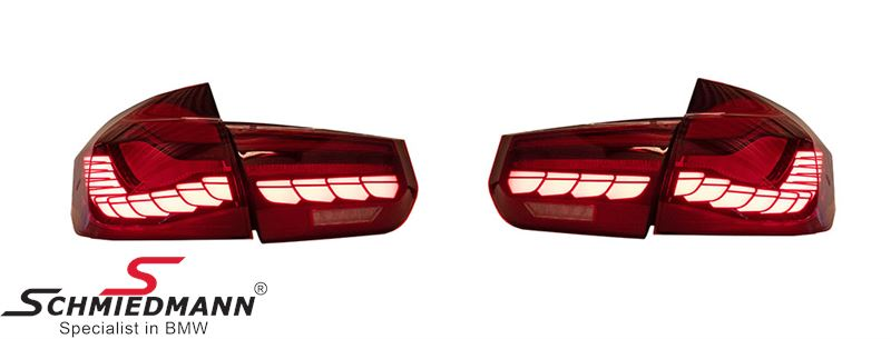 Taillights set Red - OLED Design (No coding required)