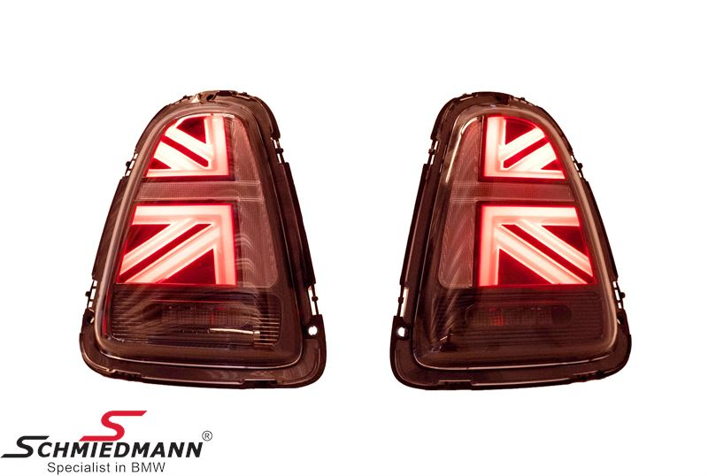 Taillights set Red - UK Design (No coding required)