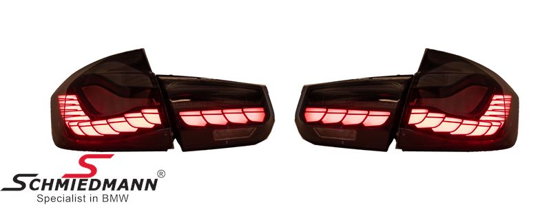 Taillights set Smoke - OLED Design (No coding required)