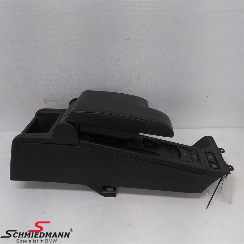 Armrest Kit Imitat Leather Black