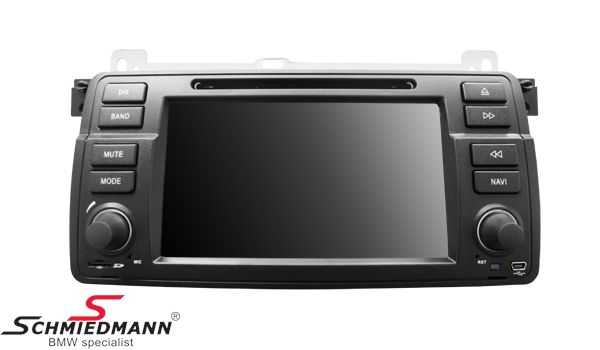 Dynavin 16:9 multimedia-unit with navigation/touch screen/bluetooth etc.