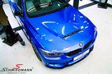 MOTF3XEV3  BMW F30 F31 F32 F33 F36 Motorhaube (Stahl) -EVO 3-