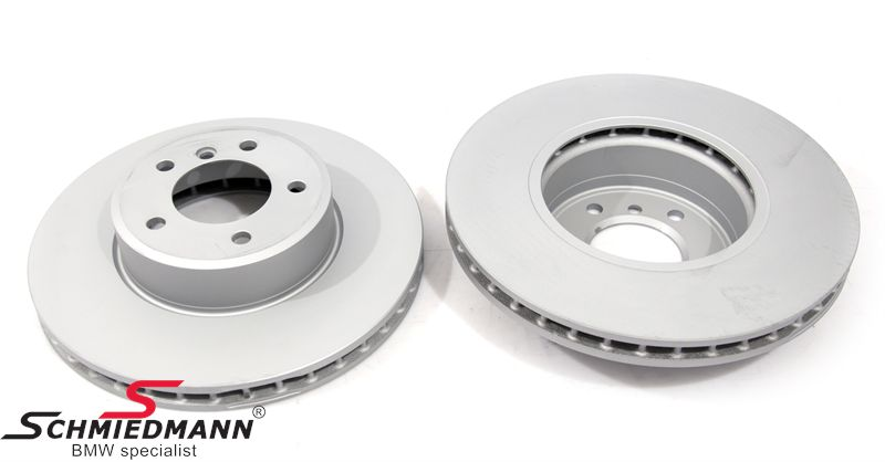 Brake disk front 324X30MM - ventilated, coated version