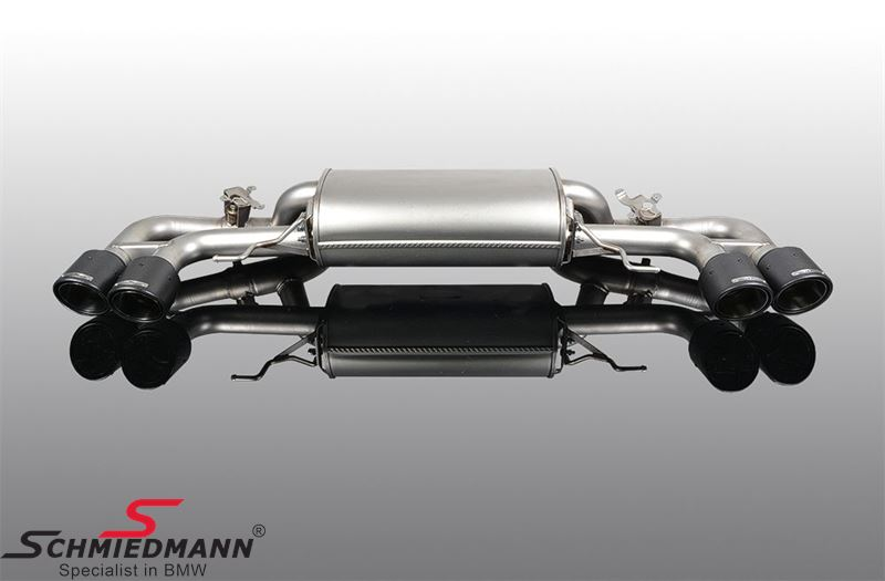 AC Schnitzer sport rear silencer with 4 -Carbon Sport- tailpipes