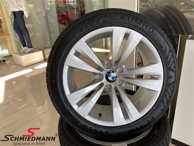 """18"""" Dual Spoke 266, Rim 8X18 ET14 (original BMW) - Fitted with Kumho Ecsta PS71 245/45 ZR18 100Y XL - Sale never seen cheaper!"""