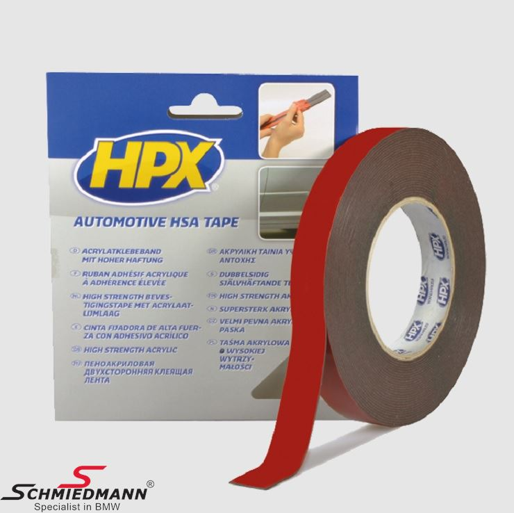 HPX Double Sided Tape 9MM - 10M roll
