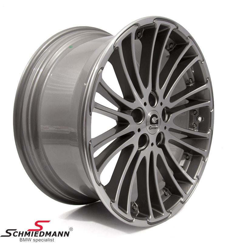 "20"" original -G-Power Silverstone Diamond- fælge -Glanzgedreht- 10X20"