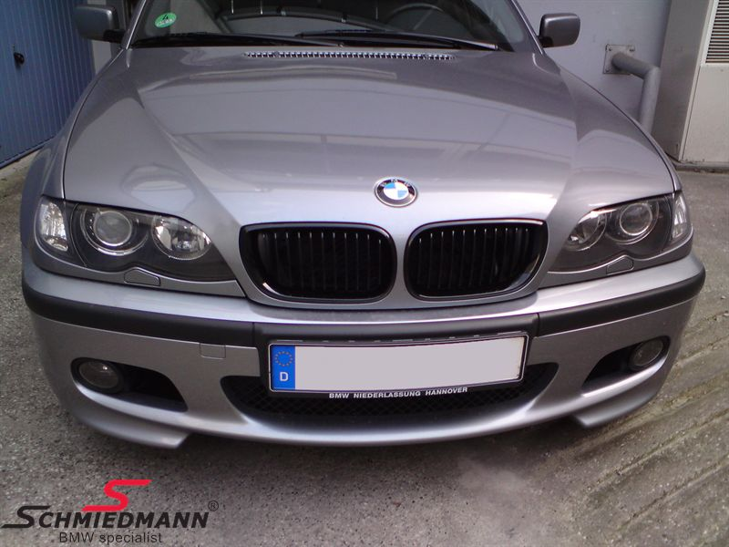Niere komplett schwarz -original BMW Performance- links