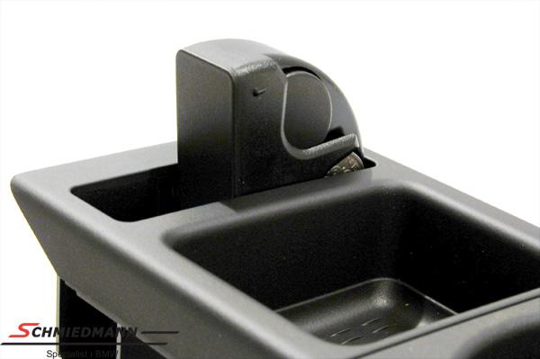 bmw e46 getr nkehalter schwarz nachr stsatz komplett. Black Bedroom Furniture Sets. Home Design Ideas