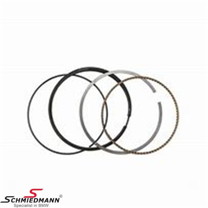 Piston rings standard size, set for one piston