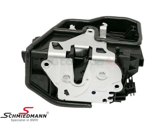 Actuator inclusive locking mechanism central locking rear door L.-side