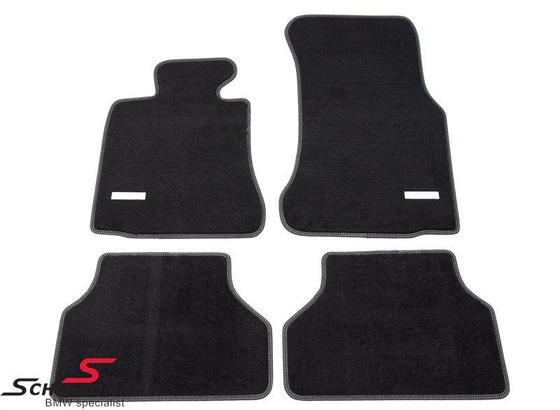 Schmiedmann -Exclusive- paksu kangasmattosarja, eteen/taakse, musta