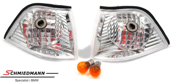 FK36C  Blinkers fram klarglas
