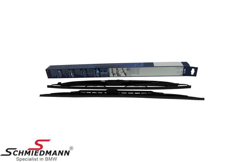 Wiper blade set Bosch with spoiler