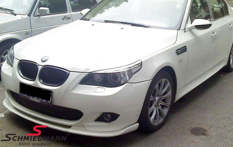 BMW E60 E61 Frontspoilerlippe Hockenheim für M-Technic Frontspoiler