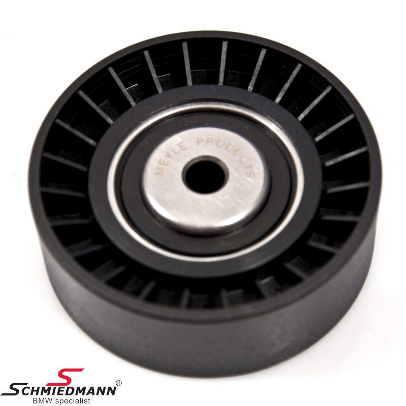 Løpehjul D=80MM vannpumpe/dynamo reim