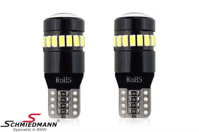 LED CANBUS 18SMD 3014 + 1SMD 1SMD T10 W5W White 12V/24V