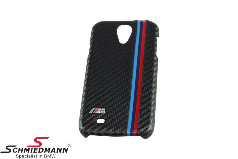 BMW M Cover Black Carbon - Samsung Galaxy S4