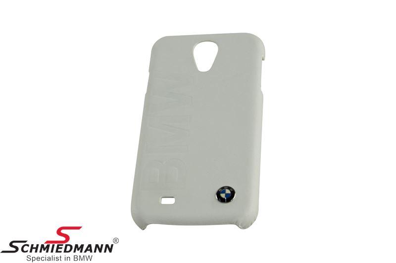 BMW Samsung Galaxy S4 Cover White