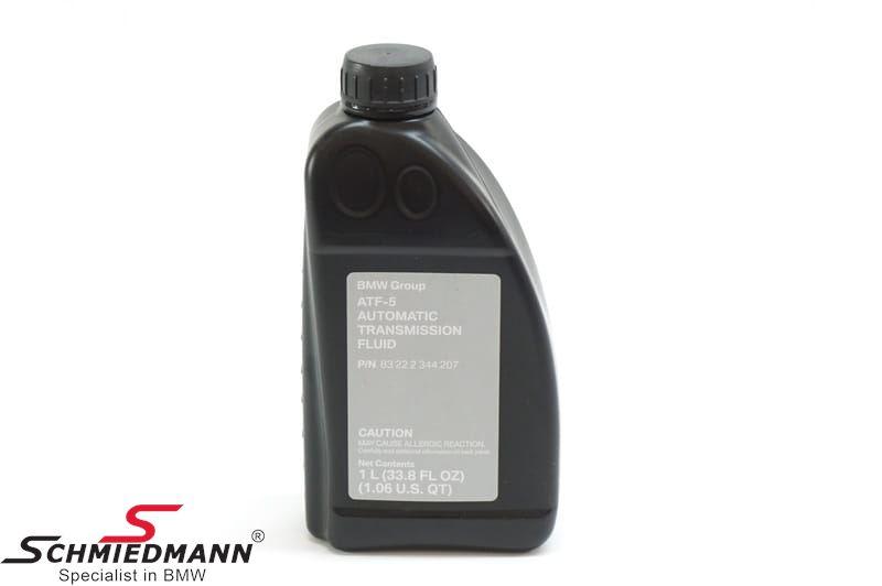 Automatic-transmission oil ATF 5, 1L original BMW