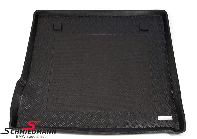 Schmiedmann -Exclusive- bagagerums-gummimåtte m. kant og indbygget anti-skrid belægning sort