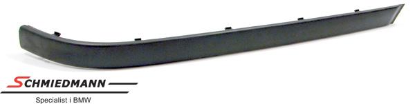 Stødliste bagkofanger shadowline uden PDC H.-side
