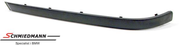 Stødliste bagkofanger shadowline uden PDC V.-side