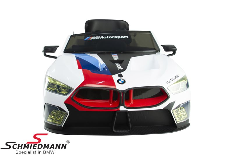 BMW M8 GTE RideOn with 12V. electric engine, Racing Livery