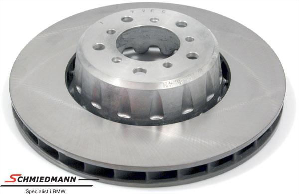 Jarrulevy floating bearings with alloy center 345x32MM jäähdytetty VASEN
