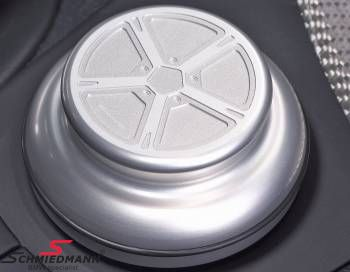 AC Schnitzer I-drive omslag aluminium matt anodiserad
