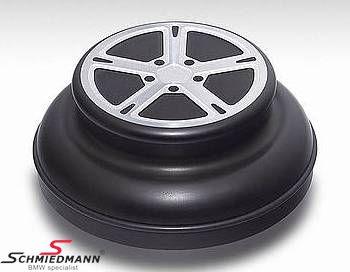 AC Schnitzer I-drive omslag -Black Line- aluminium mattsvart anodiserad