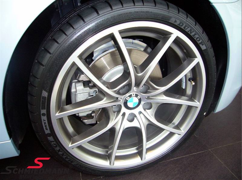 "20"" V-Speiche 356 Glanzgedreht, rim 9,0X20 ET44 (original BMW fits only rear)"