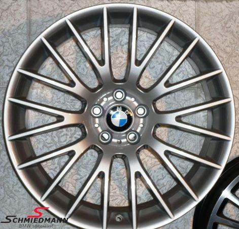 """BMW 36116792595 36116792595 36 11 6 792 595 / 36-11-6-792-595 36116792595 36 11 6 792 595  20"""" Kreuzspeiche 312 fælge 9X20 (original BMW) (passer kun bag)"""