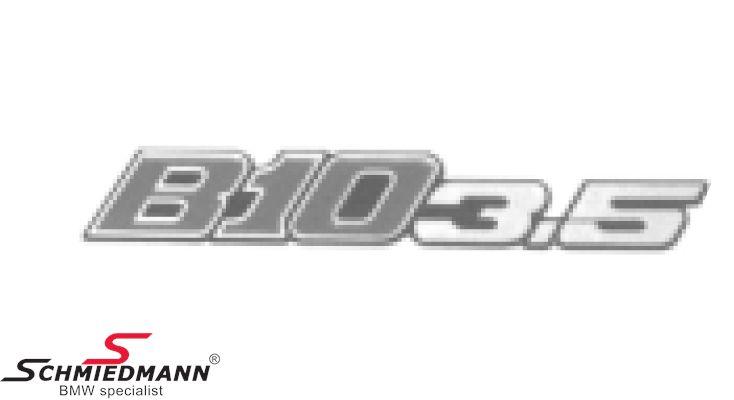 Alpina emblem til kølergitteret -B10 3.5-