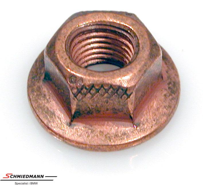 Nut M7SW12 copper exhaust manifold