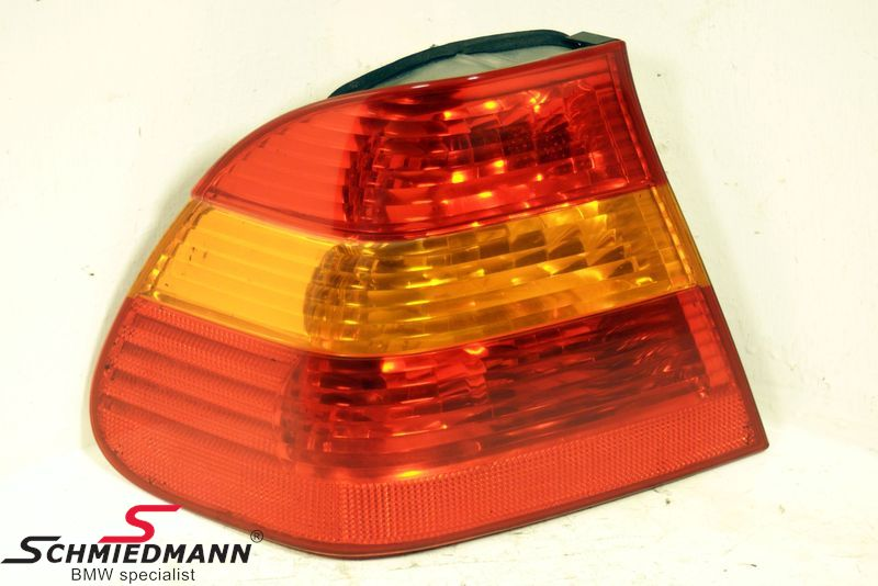B63216946533  Taillight standard yellow indicator outer part L.-side