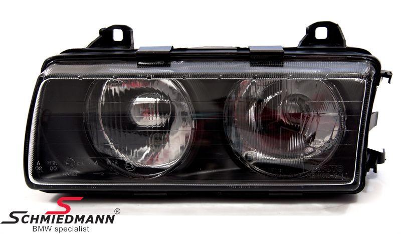 Forlygte H7 DJAUTO -Bosch design- komplet V.-side