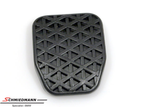 Pedal rubber clutch pedal
