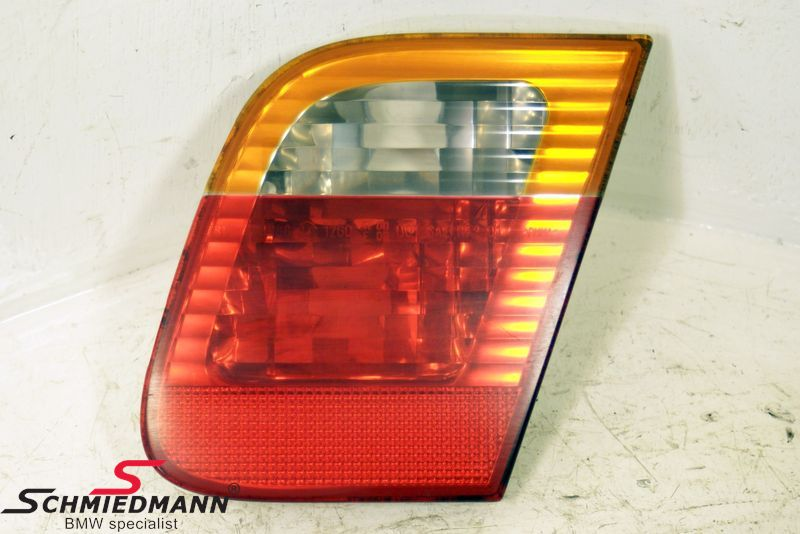 B63216907946  Taillight standard yellow indicator trunk lid part R.-side
