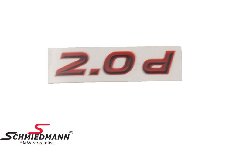 AC Schnitzer klistermærke -2.0D-
