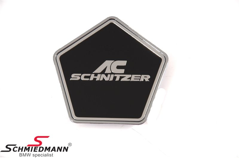 AC Schnitzer rim emblem black