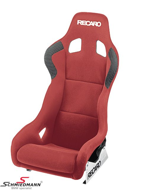 Recaro Profi SPG XL (for bigger drivers) Perlonvelour red fits both vänster och höger sida