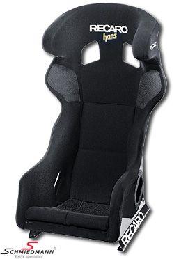 Sportsitz Recaro -Pro Racer SPG HANS XL- (Für grössere Fahrer) Perlonvelour schwarz / Schale schwarz passend links und rechts