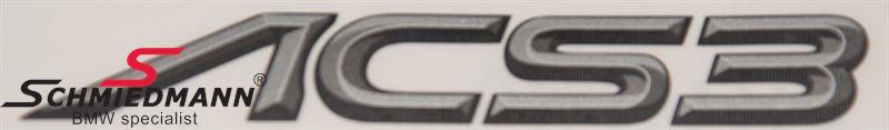 AC Schnitzer logo klistermärke -ACS3-