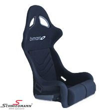 Sportseat Wiechers Sport -FUTURA-(for bigger drivers) black velours fits both left and right side