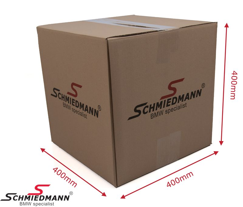 Schmiedmann carboard box with logo 400X400X400MM